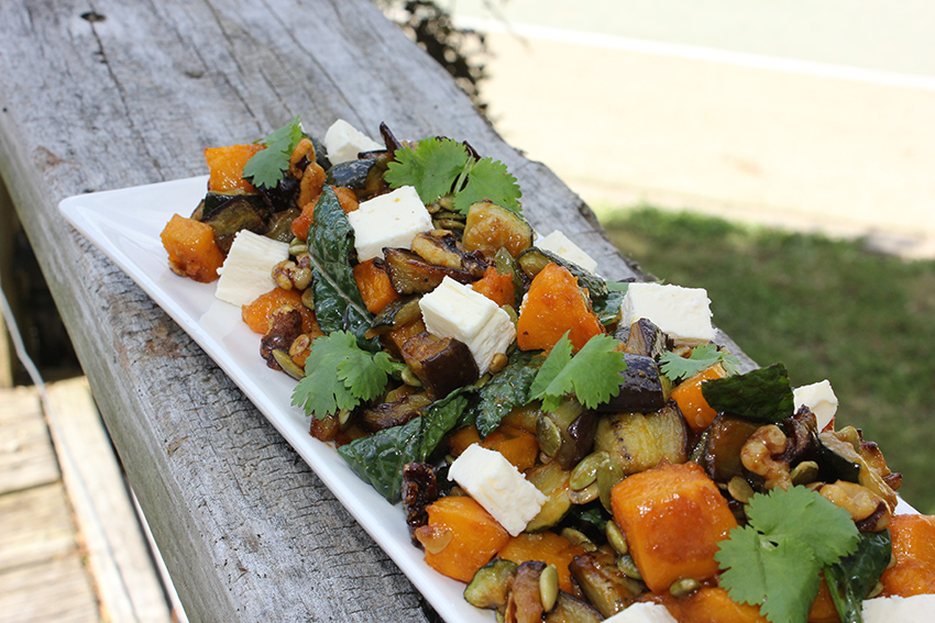 recipe, vegetables, roasted vegetables, pumpkin seeds