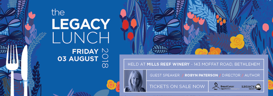 the Legacy Lunch, breast cancer, Mills Reef